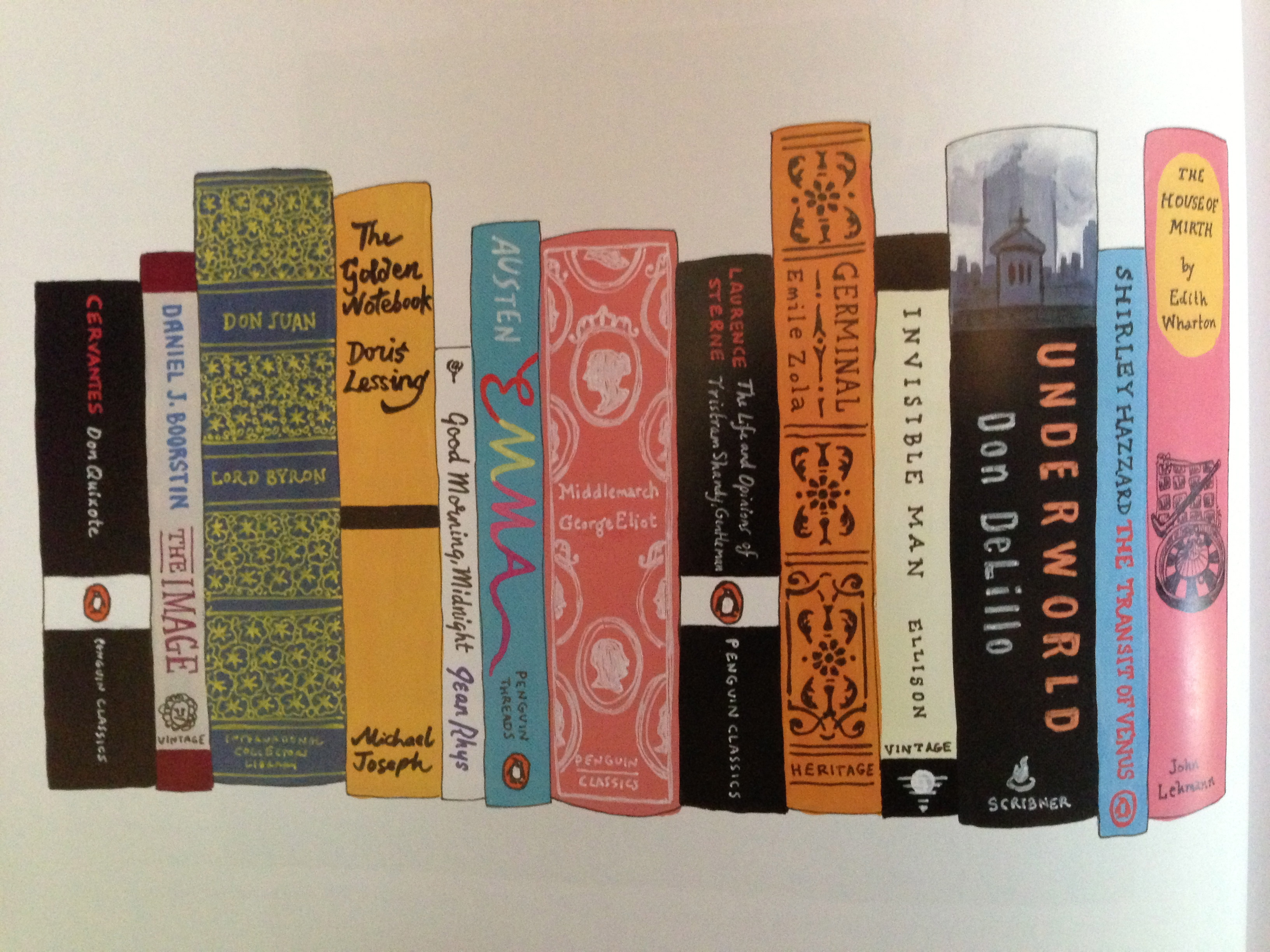 Jennifer Egans Ideal Bookshelf