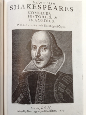 shakespeare first folio