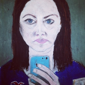 self portrait of selfie